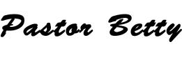 Pastor Betty's Sig